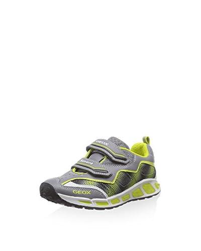 Geox Sneaker J Shuttle Boy A [Grigio/Lime]
