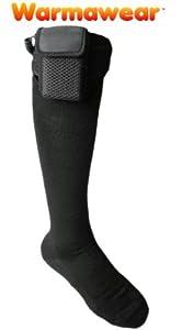 Toasty Toes Warmawear Battery Heated Socks - Small Medium by Warmawear
