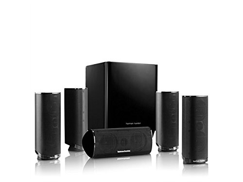 Harman Kardon HKTS 16BQ 5.1 Channel Home Theater Speaker Package (Black) (Harman Kardon Hkts 16bq compare prices)