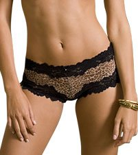 Whimsy by Lunaire Barbados with Lace Boyshorts Panty