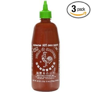 Huy Fong - Sriracha Hot Chili Sauce Net Wt 28 Oz - 3 Pack