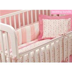 Amazon Babylicious Groovy Pink Crib Bedding Set Baby