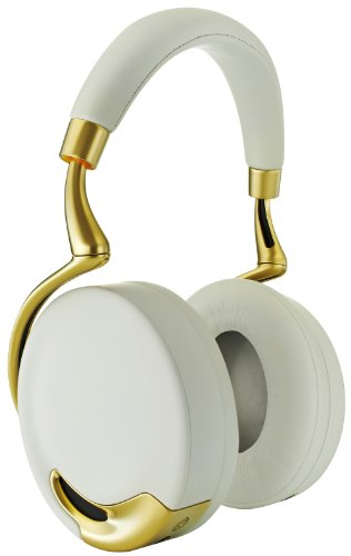Parrot Zik Wireless Noise Cancelling Headphones With Touch Control (Yellow Gold)