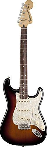 Fender フェンダーデラックス ロードハウス ストラトキャスター 3トーンサンバースト Deluxe Deluxe Roadhouse Stratocaster, RW, 3-Tone Sunburst[並行輸入]