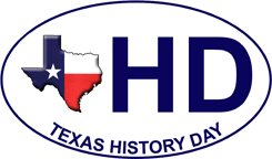 Texas History Day Vehicle Decal
