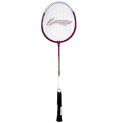 Li-Ning 808 XP Carbon Fiber Badminton Racquet, Size S2 (Black/White)