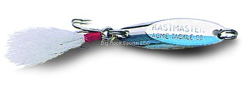 ACME Acme Kastmaster Lure, Chrome/Blue, 3/4-Ounce