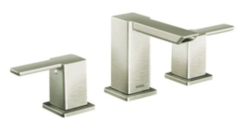Moen Ts6720bn 90 Degree Two Handle Bathroom Faucet Trim Kit Without Valve Brushed Nickel Iece