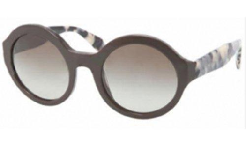 pradaPrada PR06QS Sunglasses-DHO/4M1 Dark Brown (Green Gradient Lens)-51mm