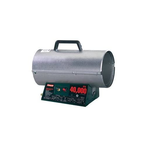 Coleman Propane Forced Air Heater w/Electronic Ignition (40 000 BTU)
