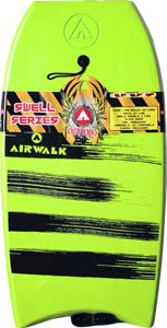 Airwalk Swell 41.5 Lime Bodyboard by Airwalk