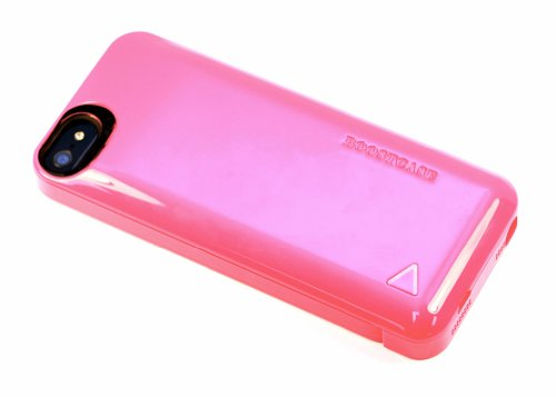 Best Price Boostcase BCH1500IP5-191 PINK Hybrid Snap Case and Attachable 1500mAh Extended Battery Sleeve for iPhone 5 - Retail Packaging - PINK