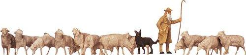 FALLER-154001-Schaefer-Hunde-Schafe