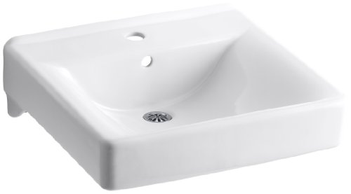 Cheap Kohler K-2084-0 Soho Wall-Mount Lavatory, White
