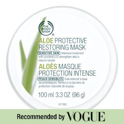 The Body Shop Aloe Protective Restoring Mask, 3.3-Fluid Ounce