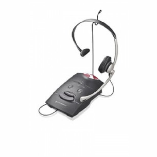 Plantronics Over-The-Head Headset W/ Amplifier Pl-S11