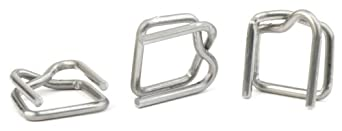"PAC Strapping B-5A 5/8"" Wire Buckle"