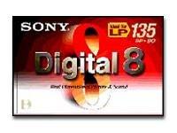 Sony Digital8 (Numérique) 3 x 60min