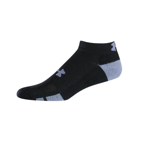 Under Armour Men's Resistor Lo Cut Six Pack Socks by Under Armour LG 9-12 1/2