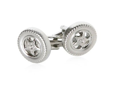 Racing Tire Cufflinks for NASCAR fans