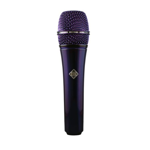 Brand New Telefunken | M80, Handheld Dynamic Cardioid Microphone, Solid Color Finish, Frequency Range : 30Hz / 18Khz, Impedance : 200 Ohms (Purple)