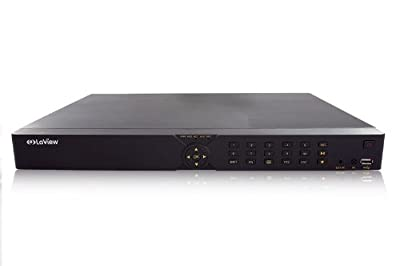 LaView 4 Channel Surveillance DVR, Dual HDD Space Storage Security System LV-D0408BE-HA