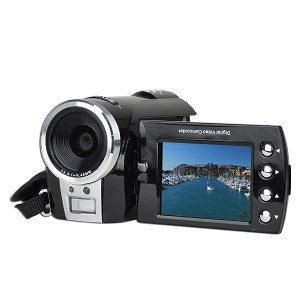 DV7000A SD/SDHC High-Definition 720p Digital Camcorder w/4x Digital Zoom & 2.4