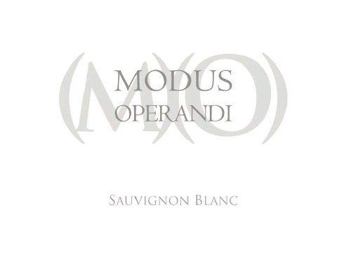 2012 Modus Operandi Cellars Sauvignon Blanc 750 Ml