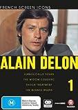 Alain Delon Collection (Vol. 1) - 4-DVD Set ( Diaboliquement vôtre / La veuve Couderc / Traitement de choc / Les granges brulées ) ( Diabolically Your [ NON-USA FORMAT, PAL, Reg.4 Import - Australia ]