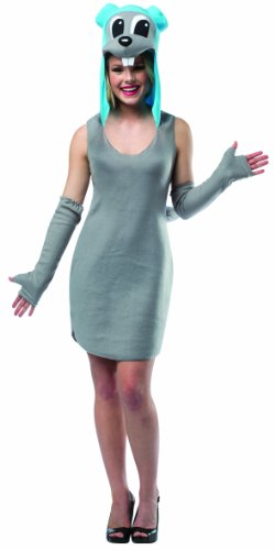 Rasta Imposta Women's Dreamworks Rocky Dress, Gray/Blue, One Size