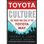 img - for Toyota Culture by Jeffrey Liker, Michael Hoseus, Center for Quality People & O. (McGraw-Hill,2008) [Hardcover] book / textbook / text book