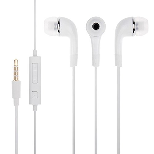 Panasonic P55 Novo 8GB Compatible Earphone / Handsfree with 3.5mm jack - White