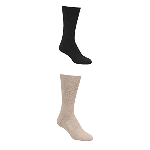 Propper Crew Socks, Pack of 3 9in, Black, S-M F56421Z001S-M