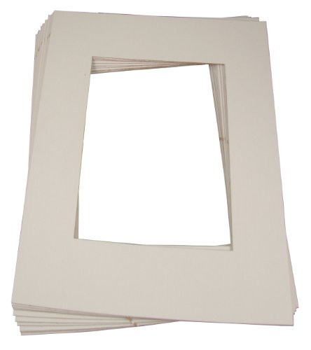Inovart Picture-It White Pre-Cut Art/Photo Mat Frames