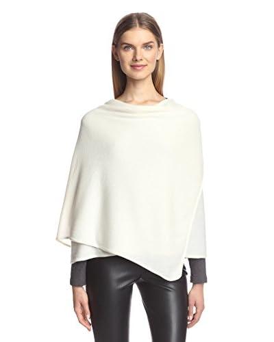Portolano Women's Knit Wrap, Bleached White