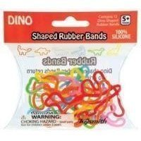 Dino Shaped Rubber Bands 12 Pk By Toysmith front-1089670