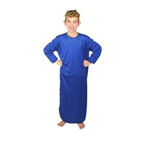 Kids Dark Blue Nativity Gown (s)