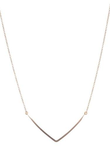 Kris Nations Sedona Bar Necklace - Gold
