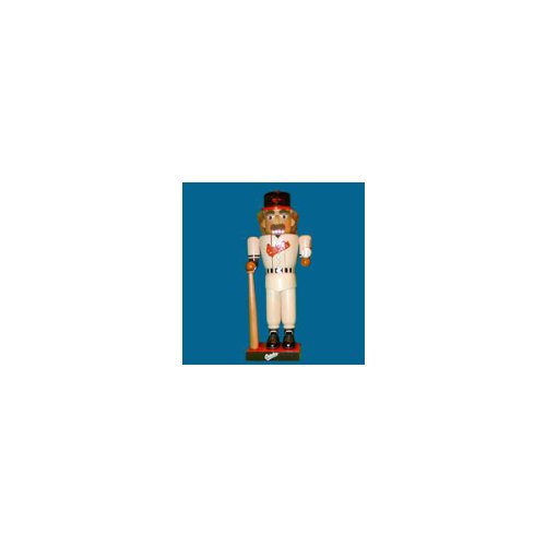 "14"" MLB Baltimore Orioles Baseball Player Wooden Christmas Nutcracker at Amazon.com"