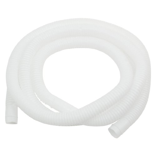 Unformed Drain Hose Pipe for Air Conditioner 2M 16mm x 17mm White