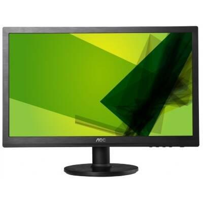 Aoc E2460Swhu 23.6 Led Monitor 5Ms 1920X1080 1000:1 Dvi/Hdmi/Vga/Usb Speaker Black