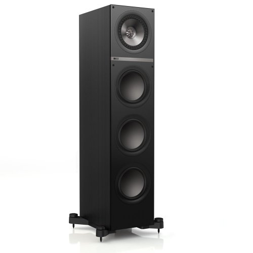 Kef Q700Bl Floor Standing Speaker - Black Oak (Single)