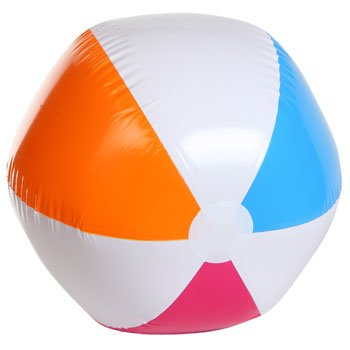 Economy Splash-N-Swim Inflatable Beach Balls, 24 inch - 1