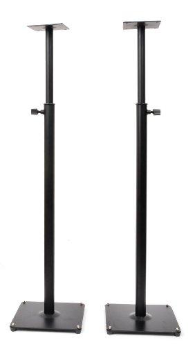 2 Heavy duty PA DJ Club Adjustable Satellite Speaker Stand MS06BP 1SP
