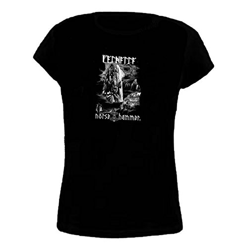Norse Hammer -  T-shirt - Donna nero Medium