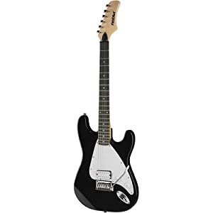 First Act M300 Double Cutaway Electric Guitar,Black