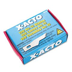 * #16 Bulk Pack Blades For X-Acto Knives, 100/Box *