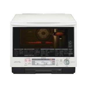 日立 33L ベーカリーレンジ 過熱水蒸気オーブンレンジ ヘルシーシェフ MRO-BK1000-W パールホワイト