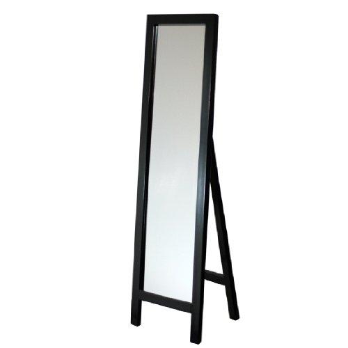 Head West Easel Espresso Floor Mirror, 18 By 64-Inch front-248397