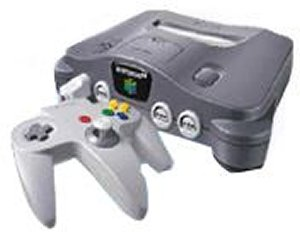 Nintendo 64 Console with Two Controllers